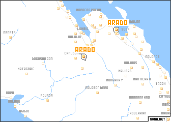 map of Arado