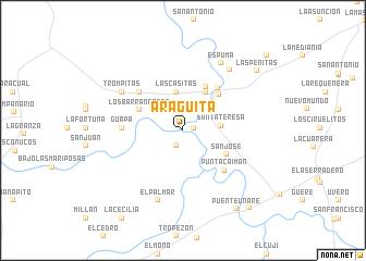 map of Aragüita