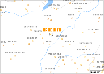map of Araguita