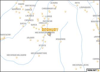 map of Arahuay