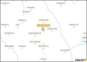 map of Aramani
