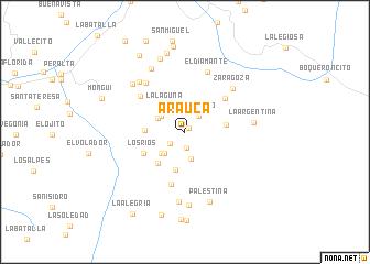 map of Arauca