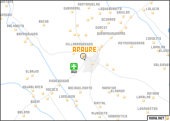 map of Araure