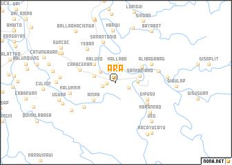map of Ara