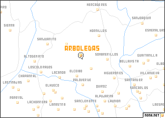 map of Arboledas