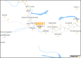 map of Aremt
