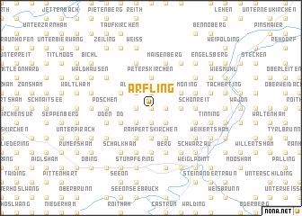 map of Arfling