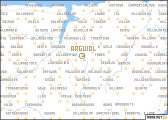 map of Arguiol