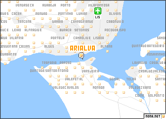 map of Arialva