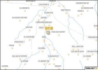 map of Arib