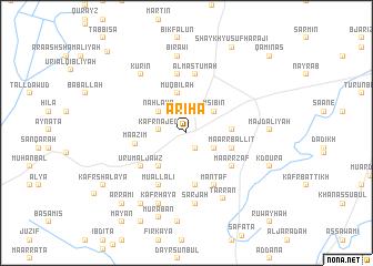 map of Arīḩā