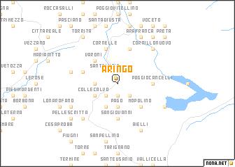 map of Aringo