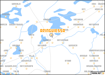 map of Aringuiéssa