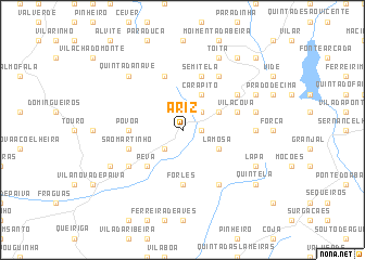 map of Ariz