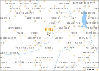 map of Ariz