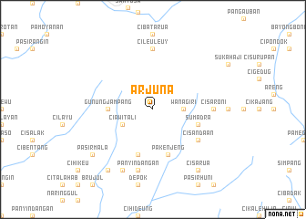 map of Arjuna