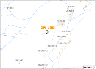map of Arlyaki