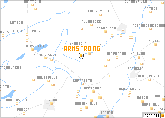 map of Armstrong