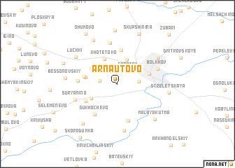 map of Arnautovo