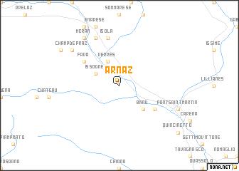 map of Arnaz