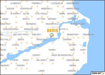 map of Arnis