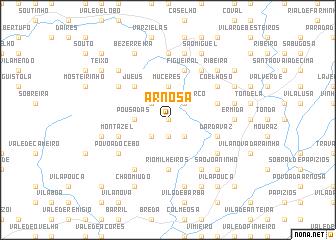 map of Arnosa