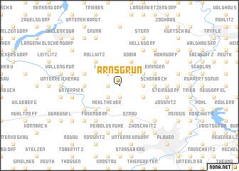 map of Arnsgrün