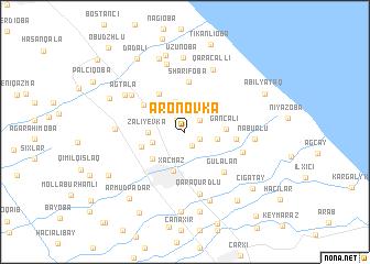 map of Aronovka