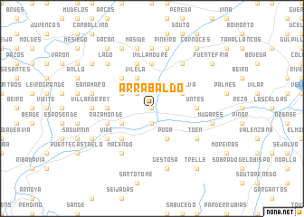 map of Arrabaldo