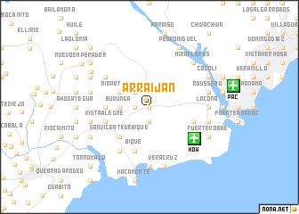 map of Arraiján