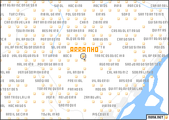 map of Arranhó