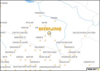map of Arranjinho