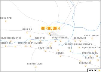 Ar Raqqah Syria map nonanet