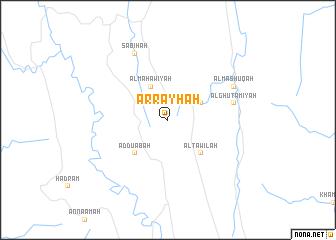 map of Ar Rayḩah