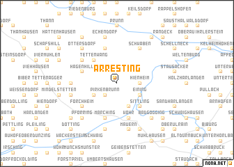 map of Arresting
