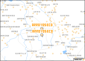 map of Arroyo Seco