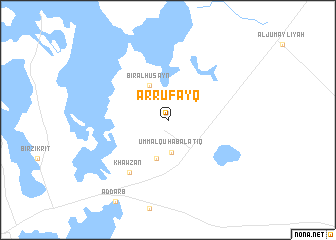 map of Ar Rufayq
