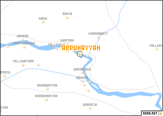 map of Ar Ruḩayyah