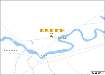 map of Ar Rummānah