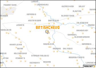map of Artishchevo