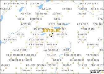 map of Artolec