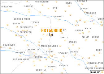 map of Artsvanik