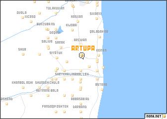 map of Artupa