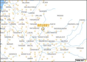 map of Arua-ay