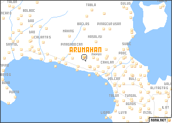 map of Arumahan