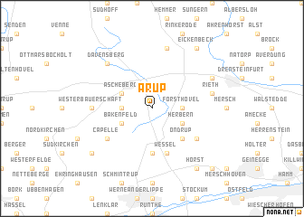map of Arup