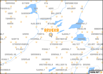 map of Arveka