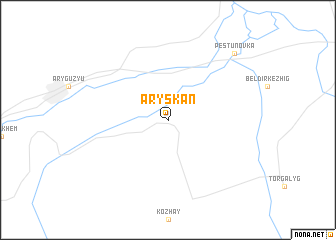 map of Aryskan