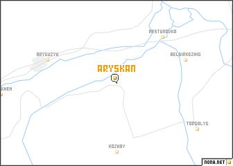 map of Aryskan