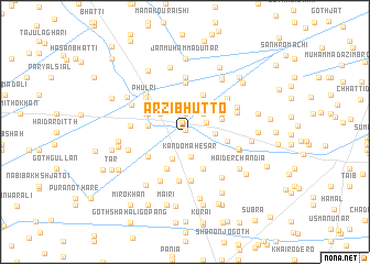 map of Arzi Bhutto
